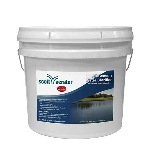 Scott Aerator All Natural Pond Treatment 25 Lb. / 50 - 8 Oz. Packs (MPN 40005)