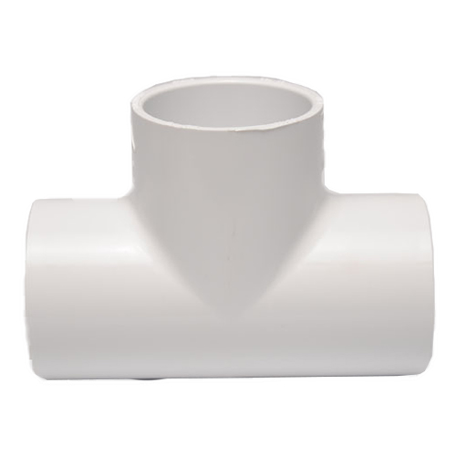 "Dura Schedule 40 1"" PVC Tee SSS Fittings (MPN 401-010)"
