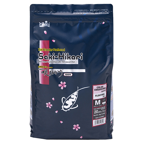 Saki Hikari Color Enhancing Diet 4.4 lb Bag (MPN 41809)