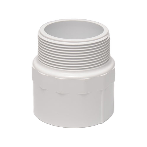 "Dura Schedule 40 1"" PVC Male Adapter Mipt x Slip Fittings (MPN 436-010)"