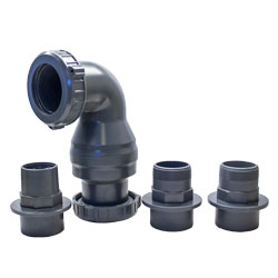 48026 - AquascapePro Dual Union Check Valve 2.0 (MPN 48026)