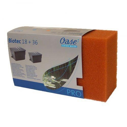 OASE Red/Purple Filter Foam Set (BioTec 18000, 32000) (MPN 48780)