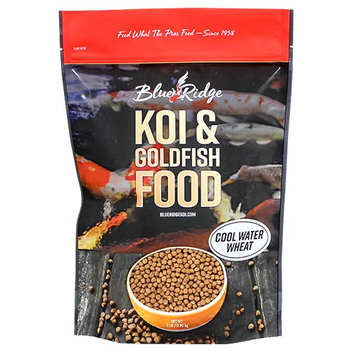 Blue Ridge Floating Cool Water Wheat Fish Food 2 lbs (3 Pack)