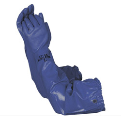 PVC Blue Pond Glove Large (MPN 690)