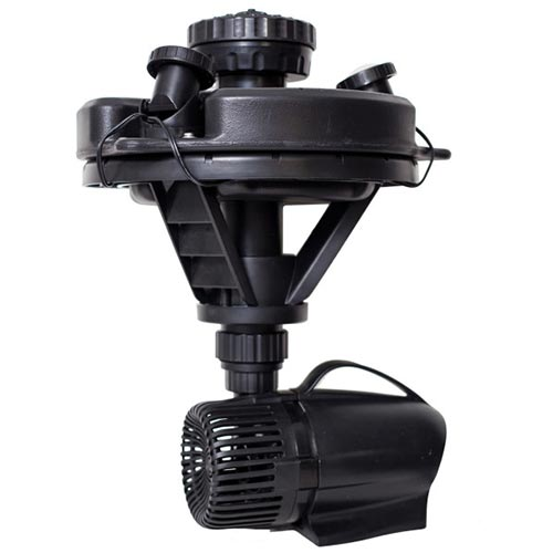 Pond Boss 1/4 HP Floating Fountain with Lights (MPN DFTN12003L)
