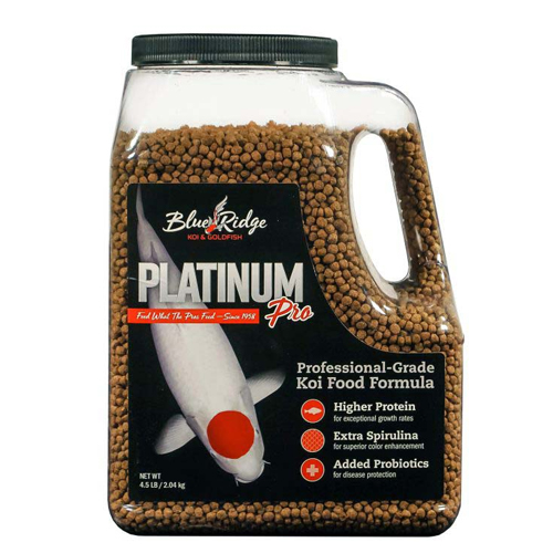 Blue Ridge Floating Platinum Pro Fish Food 4.5 lb.
