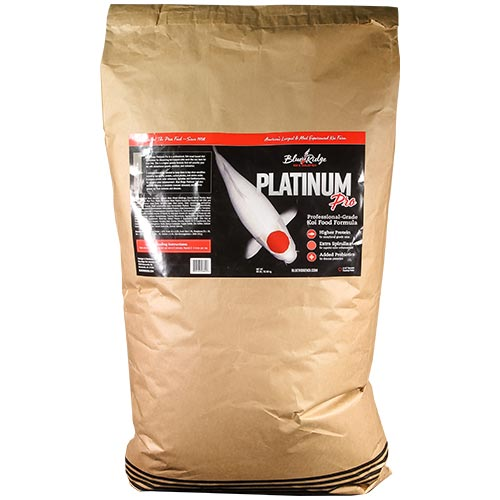Blue Ridge Floating Platinum Pro Fish Food 50 lb.