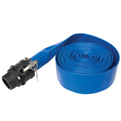 EasyPro 50' Roll-Up Hose for Pond Cleanouts (MPN PCH50)