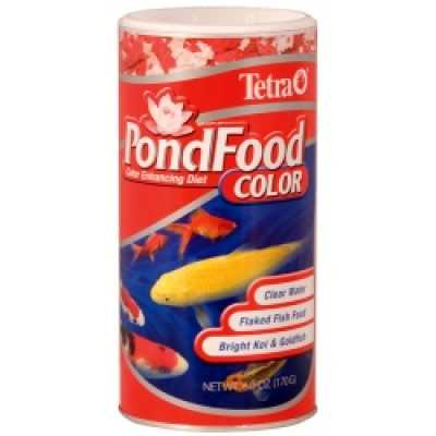77021 - Tetra Pond Food Color Flaked Food 6 oz. (MPN 77021)