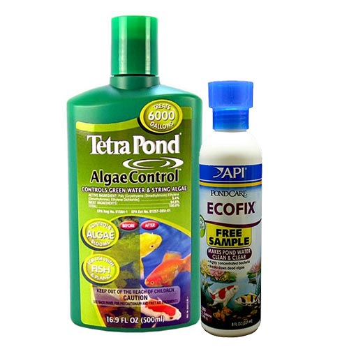 Tetra Algae Control 16.9 oz. with Free Pond Care Ecofix 8 oz. (MPN 77187)