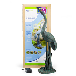 Aquascape Standing Crane Fountain w/pump (MPN 78008)
