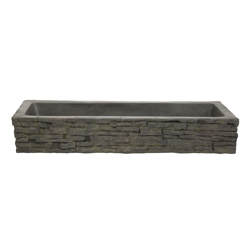 Aquascape Quad-Spill Straight Stacked Slate Topper (MPN 78280)