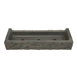 Aquascape Front-Spill Straight Stacked Slate Topper (MPN 78281)
