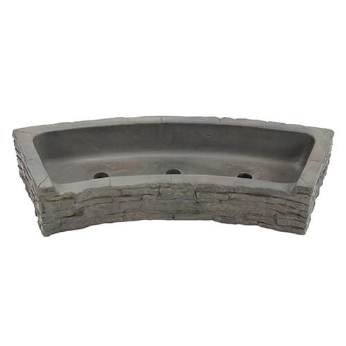 Aquascape Front-Spill Curved Stacked Slate Topper (MPN 78284)