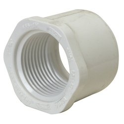 "Aqua Ultraviolet Reducing Bushing 2"" slip x 1 1/2"" FPT (MPN A40266)"