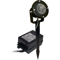 Alpine 50Watt Pond Light, Clear Lens, With Transformer (MPN PLP150T)