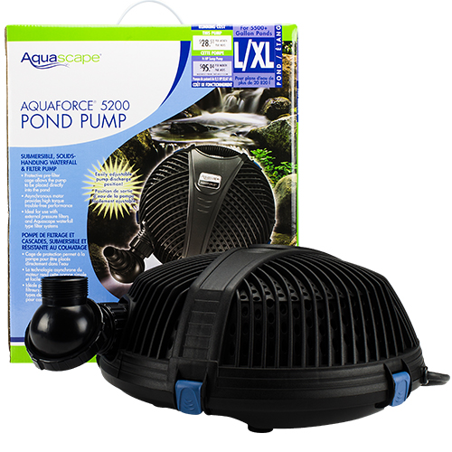 91013 - Aquascape AquaForce 5200 Pump (MPN 91013)