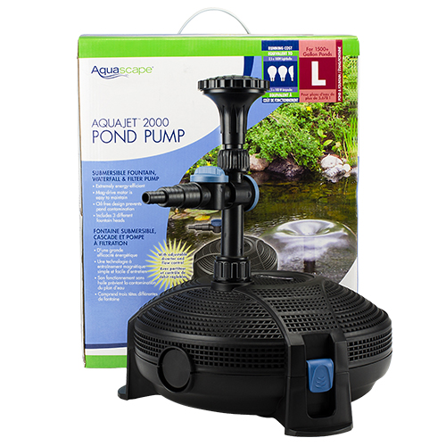 Aquascape AquaJet 2000 Pump (MPN 91016)