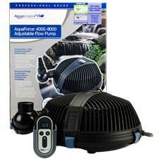 Aquascape AquaForce PRO 4000-8000 Adjustable Flow Pump (MPN 91104)