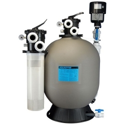 "Aquadyne 8000HE HIGH Efficiency 2"" Head Bead Filter (MPN AD8000HE)"