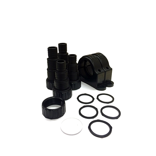 Aquascape UltraKlear UV Sterilizer Fittings Kit (fits 14W, 28W, 55W) (MPN 95052)