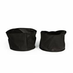 "Fabric Plant Pot 12"" Round x 8"" Deep (2 Pack)"