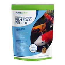 Aquascape Premium Cold Water Fish Food, Medium Pellet 2.2 lb (MPN 98871)