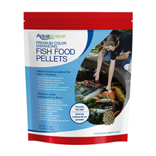 Aquascape Premium Color Enhancing  Fish Food, Small Pellet 1.1 lb (MPN 99873)