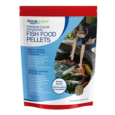 98874 - Aquascape Premium Color Enhancing Fish Food, Medium Pellet 2.2 lb (MPN 98874)