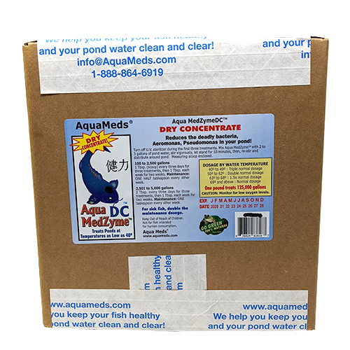 AquaMeds Medzyme Dry Concentrate 24 lbs (MPN AMD25)
