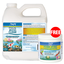 API Pond AccuClear 64 oz with Free Pond-Zyme Plus 8 oz. (MPN 142D)