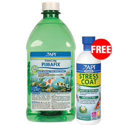 API Pond PimaFix 64 oz with Free Stress Coat 16 oz. (MPN 178 C)