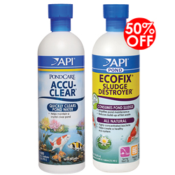 API Pond AccuClear 16 oz. with 50% Off on EcoFix 16 oz. (MPN 142B)
