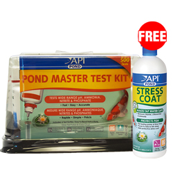 API Pond Master Liquid Test Kit with Free Stress Coat 16 oz. (MPN 164 M)