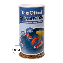 Tetra Spring & Fall Diet 7.05 oz. (12 Pack) (MPN 16467)