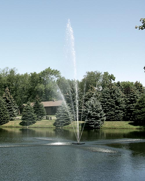 Scott Aerator Clover Fountain ½ hp, 230 V, 200' Cord (MPN 13001)