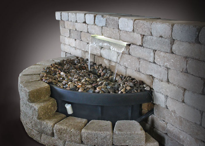 "EasyPro Vianti Falls - 35"" Spillway kit with or without lights"