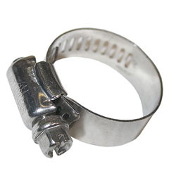 Alpine 3/8 to 5/8-Inch #6 Stainless Hose Clamps, Mini (MPN HTSS3812)