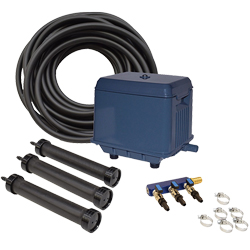EasyPro KLC Koi Pond Aeration Kit - 3000 to 22500 gallon ponds (MPN LA3)