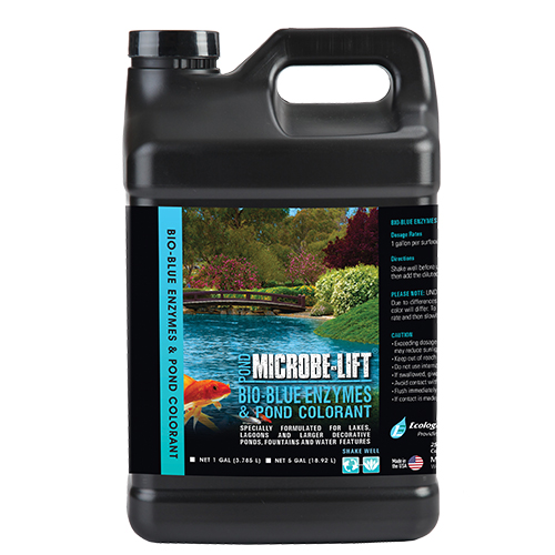 Microbe-Lift Bio-Blue Enzymes & Pond Colorant 5 gal (MPN MLBB5)