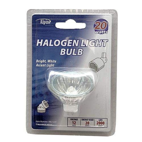 20195 - Alpine 20 Watt Halogen Replacement Bulb (MPN RBL1220)