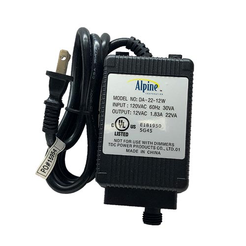 Alpine 22w Replacement Transformer (MPN PL022T)