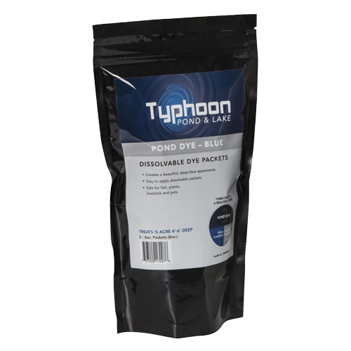 Atlantic Typhoon Pond Dye - Blue - (2) 4oz WS Packs (MPN TPWDBLU2)