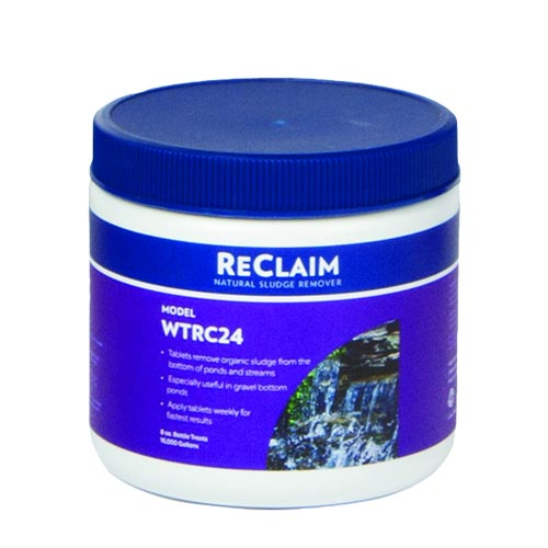 Atlantic ReClaim 24 - ½ oz Tablets - Natural Sludge Remover (MPN WTRC24)
