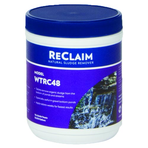 Atlantic ReClaim 48 - ½ oz Tablets - Natural Sludge Remover (MPN WTRC48)