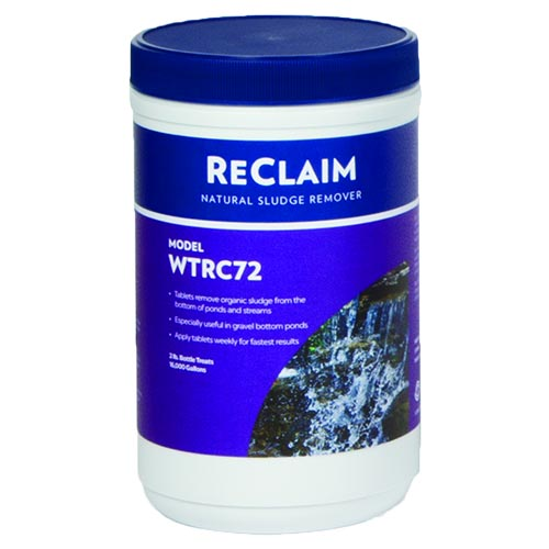 Atlantic ReClaim 72 - ½ oz Tablets - Natural Sludge Remover (MPN WTRC72)
