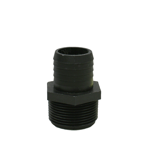 "Adapter 1 1/4"" Male Npt X 1 1/4"" Hose Barb (MPN A114P)"