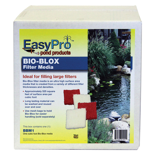 EasyPro Bio-Blox Filter Media; 1 cu.ft. box (MPN BBM1)