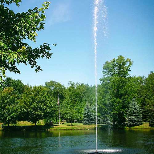 Scott Aerator Jet Stream Fountains ½ hp, 230 V, 150' Cord (MPN 13523)
