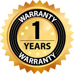 1 Year Manufacturers Warranty